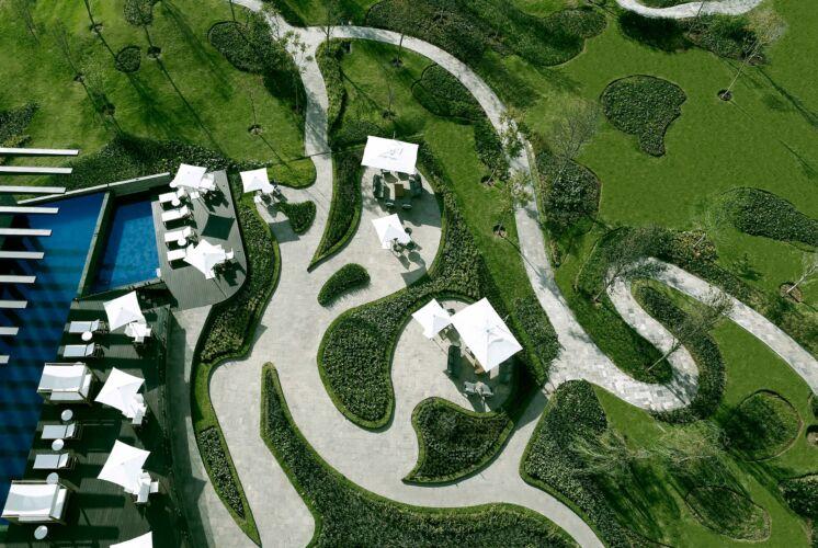 Generosas áreas verdes